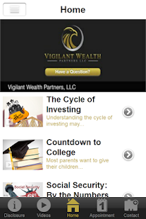 Vigilant Wealth Partners, LLC- screenshot thumbnail