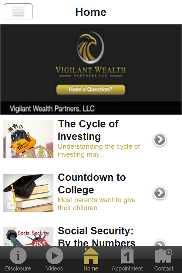 Vigilant Wealth Partners, LLC- screenshot
