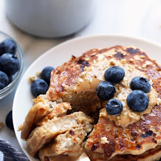 Cottage Cheese Protein Pancakes.