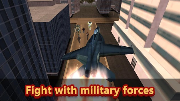 Air Robot Defender - Evil City Warrior apk screenshot