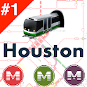 Houston Public Transport Offline METRO time & maps icon