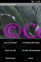 Screenshot of Watermark Copyright