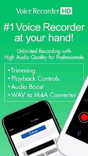 Voice Recorder High Quality Audio Recording 1.1.3 Ad Free 1