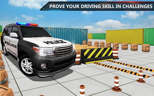 Police Jeep Spooky Stunt Parking 3D 2  screenshots 8