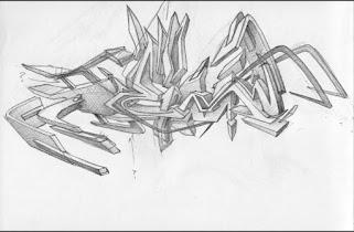 graffiti sketch - screenshot thumbnail 02