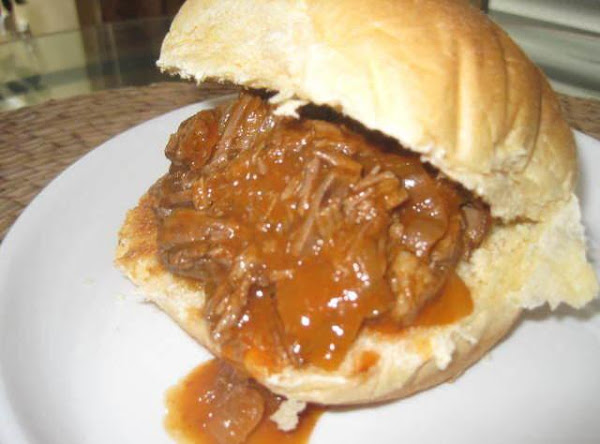 Sweet And Sour Pulled Pot Roast Sammies Recipe