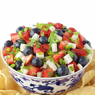 Red, White and Blue Salsa.