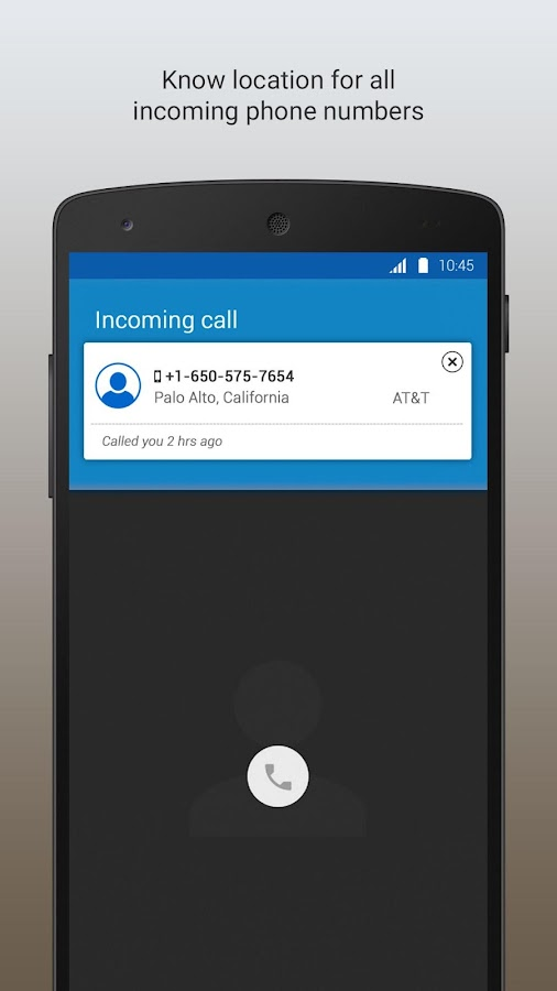 Phone 2 Location - Caller Id- screenshot