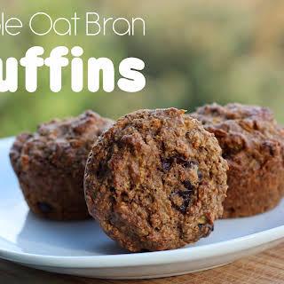 Apple Oat Bran Muffins.