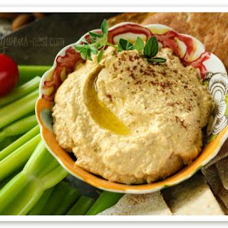 Almond Low Carb Hummus