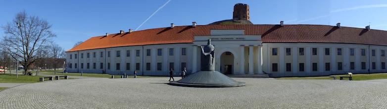 Photo: Vilnius. Paminklas karaliui Mindaugui.