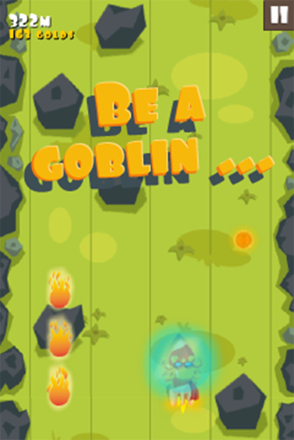 Goblin Rocket Rider- screenshot