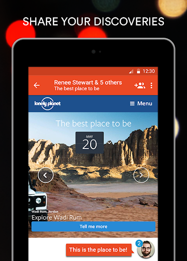 Screenshot 14 for StumbleUpon's Android app'