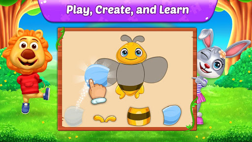 Puzzle Kids - Animals Shapes and Jigsaw Puzzles 1.1.6 androidappsheaven.com 2