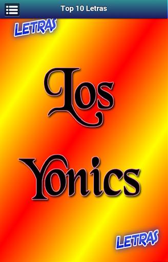Letras Los Yonics
