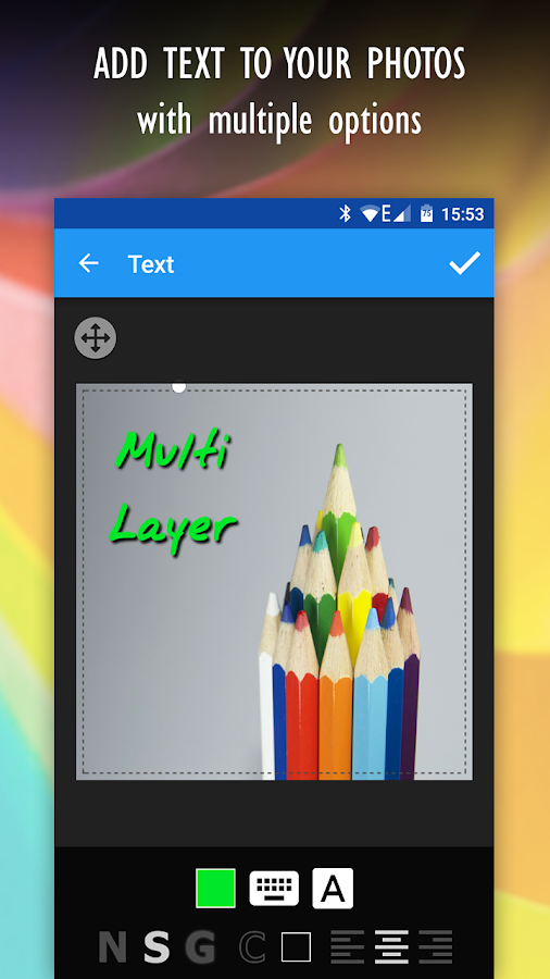 Multi Layer - Photo Editor- screenshot