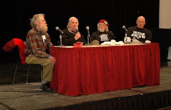 "Photo: (left) Don Olson, ""Minnesota 8"" moderator"