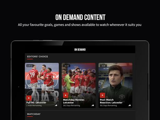 MUTV u2013 Manchester United TV 2.9.0 screenshots 11