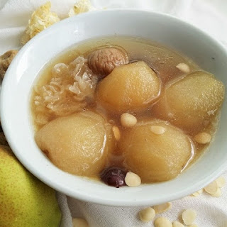 Chinese Pear Soup.