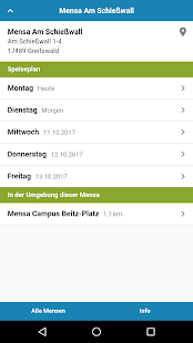 Mensa Greifswald - náhled