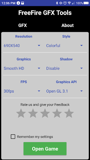 GFX Tool Pro - Free Fire Booster Download Latest Version APK