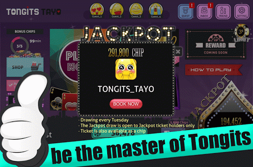 Tongits Tayo (Pinoy Game)  gameplay | by HackJr.Pw 4