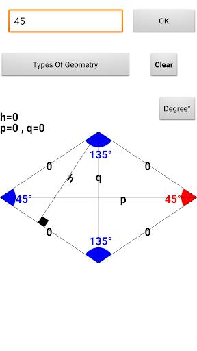 Geometry Calculator free screenshots 3