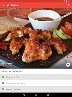 recetas de pollo gratis