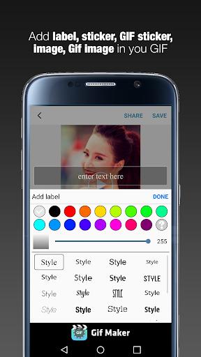 GIF Maker  - GIF Editor 1.1.9 screenshots 5