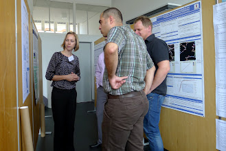 Photo: poster session
