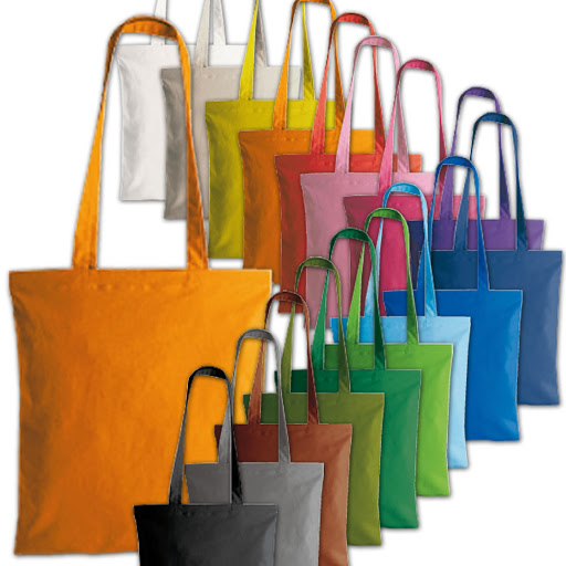 Large Capacity Coloured Canvas Shopping Bags