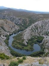 Photo: kanjon rijeke Krupe