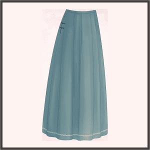 茶摘み歌-スカート