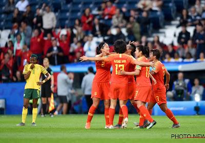 China klopt Zuid-Afrika op WK
