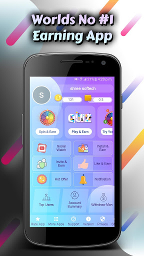 Spin for Cash: Tap the Wheel Spinner & Win it! 6.4 screenshots 1