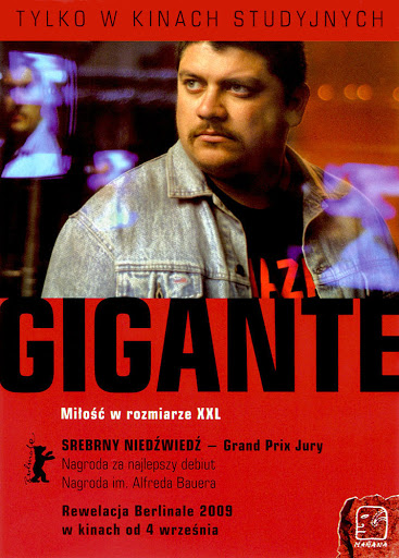 Przód ulotki filmu 'Gigante'