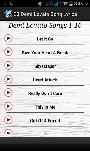 30 Demi Lovato Song Lyrics