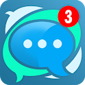 Mobile Messenger - Instant & Lite & Free Chat App icon