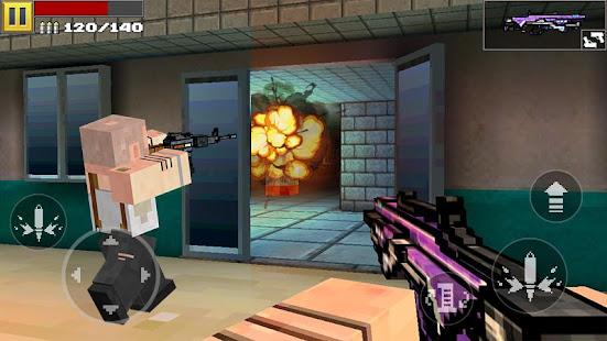 Disparo de píxeles 3D Mod