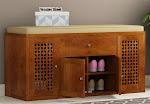 Best Shoe Cabinets Online in India - Wooden Street
