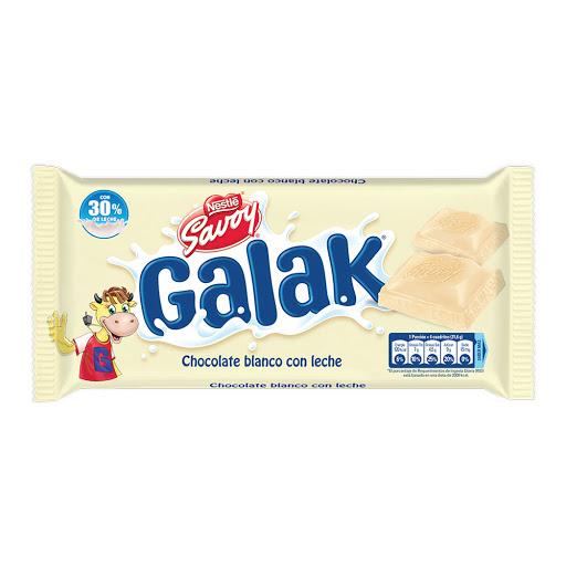 Chocolate Galak Blanco 130Gr