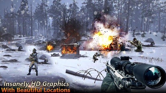 Call of Shooter WW2: FPS Shooting Games - náhled