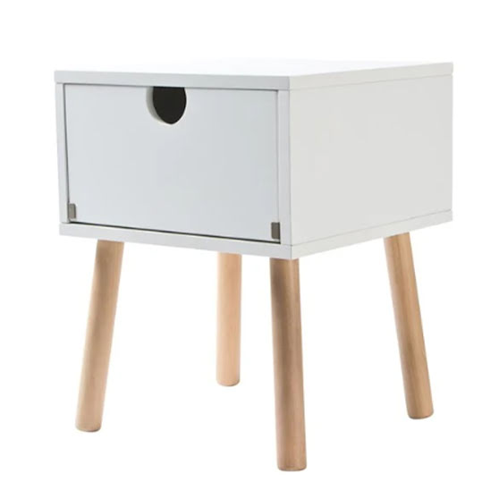 JOX Bedside Table White