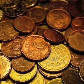 by Hendrik Mändla - Products & Objects Business Objects ( cents, coins, copper, money, euro, close up )