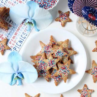 Extra Crispy Vegan Sugar Cookies