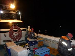 Photo: さあー、夜釣りスタート!