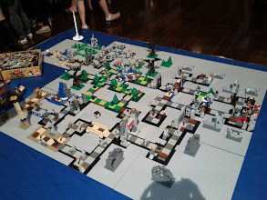 Photo: Another angle of the Heroica sets.