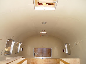 Photo: painted Zolatone interior with center line lights installed