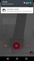 Screenshot of GramaFoon Radio جرامافون راديو