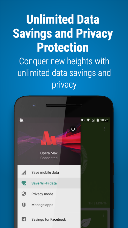 Opera Max - Data manager- screenshot